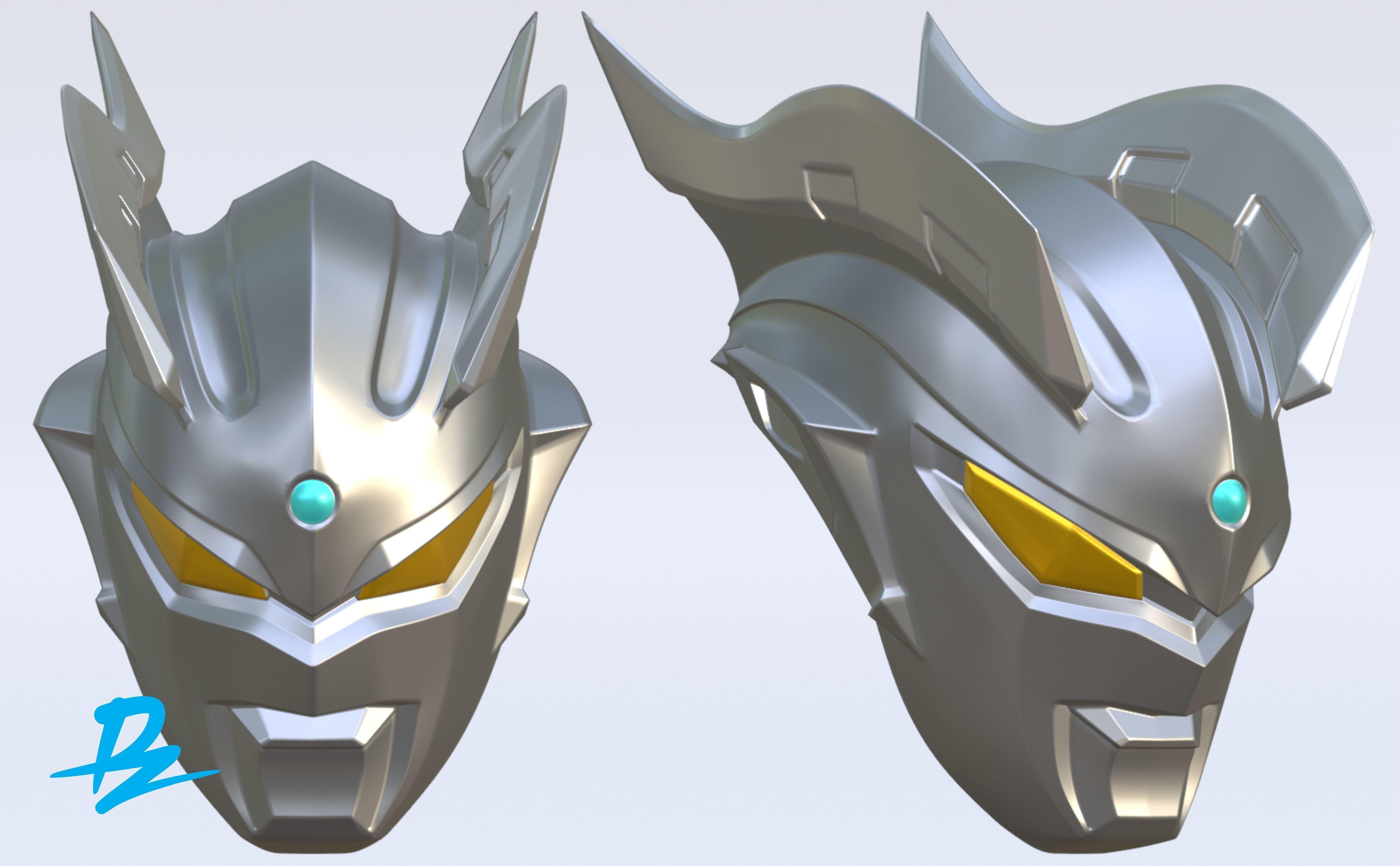 Mask Ultraman Zero