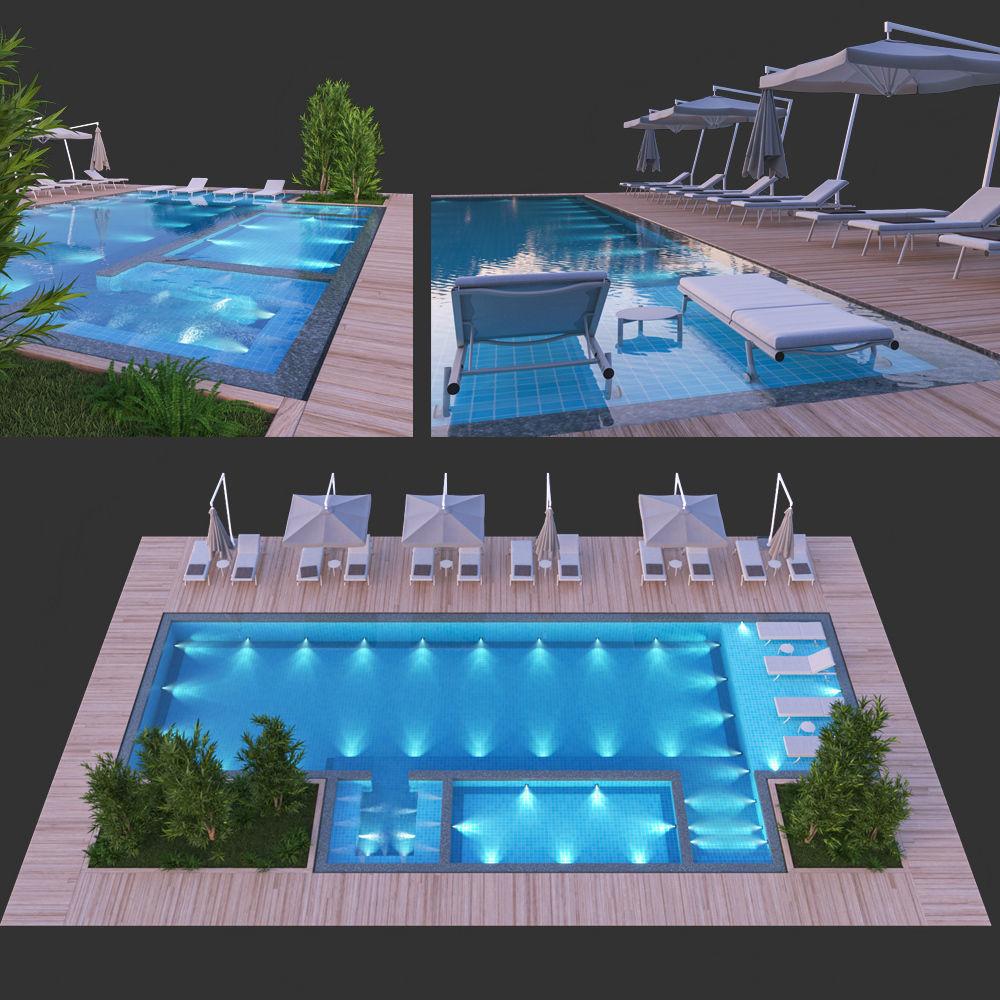 Swimming Pool 8 | 3D model