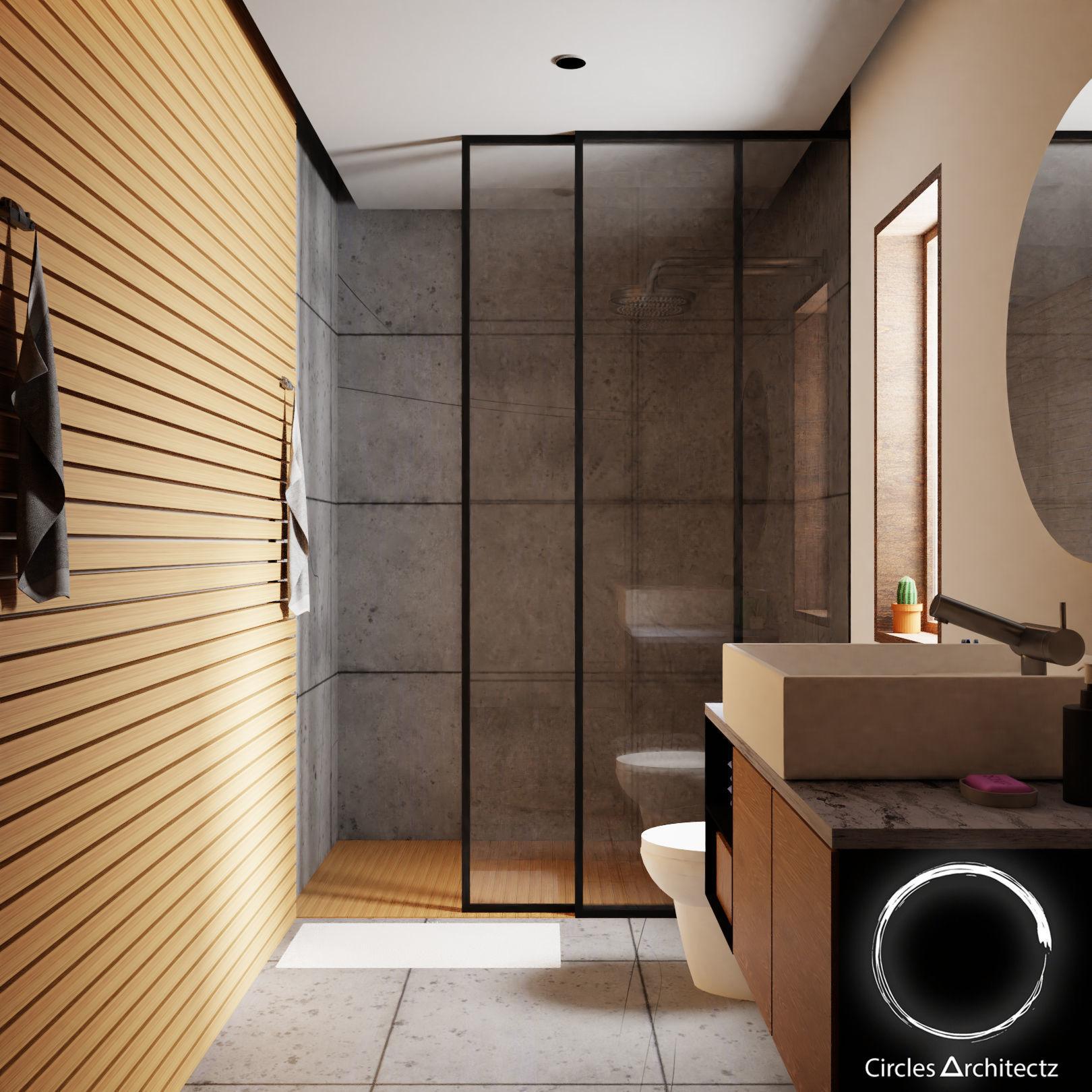 3D model Minimal Bathroom Design | CGTrader on Bathroom Model  id=19492