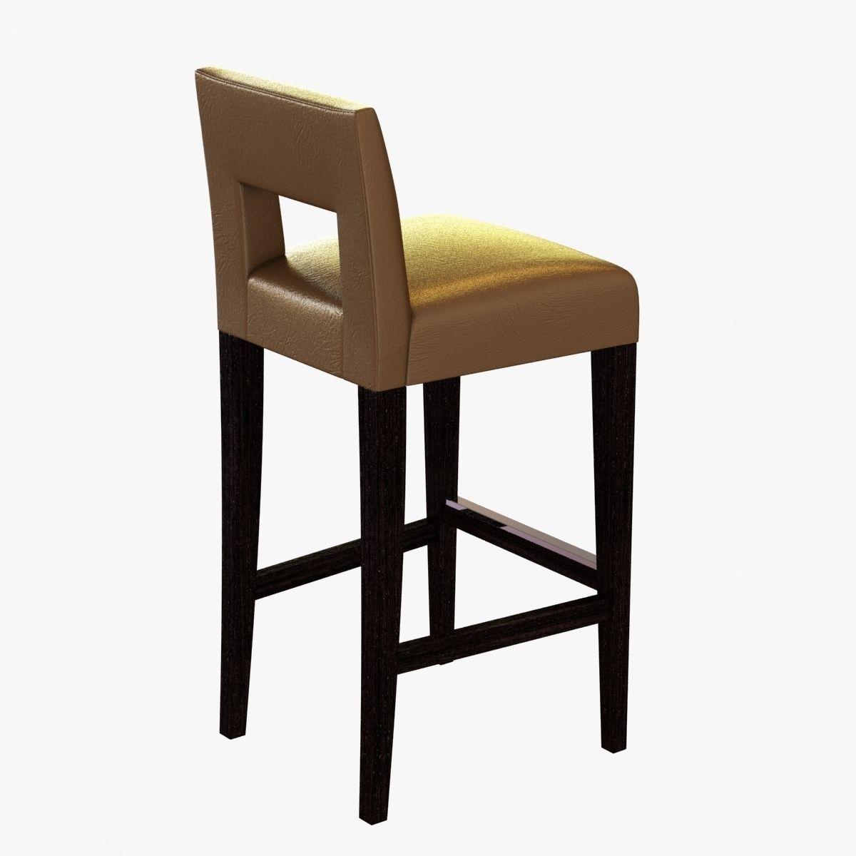 3D sofa and chair company hugo bar stool | CGTrader