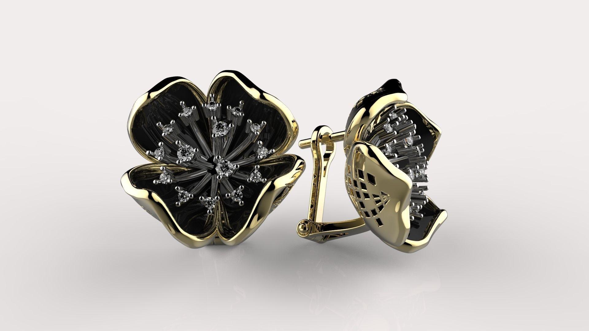 diamond earrings model -#main
