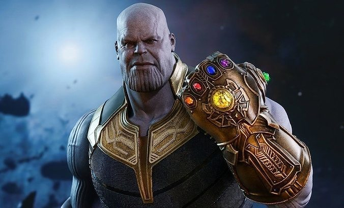Thanos 3d Character Model | 3D model