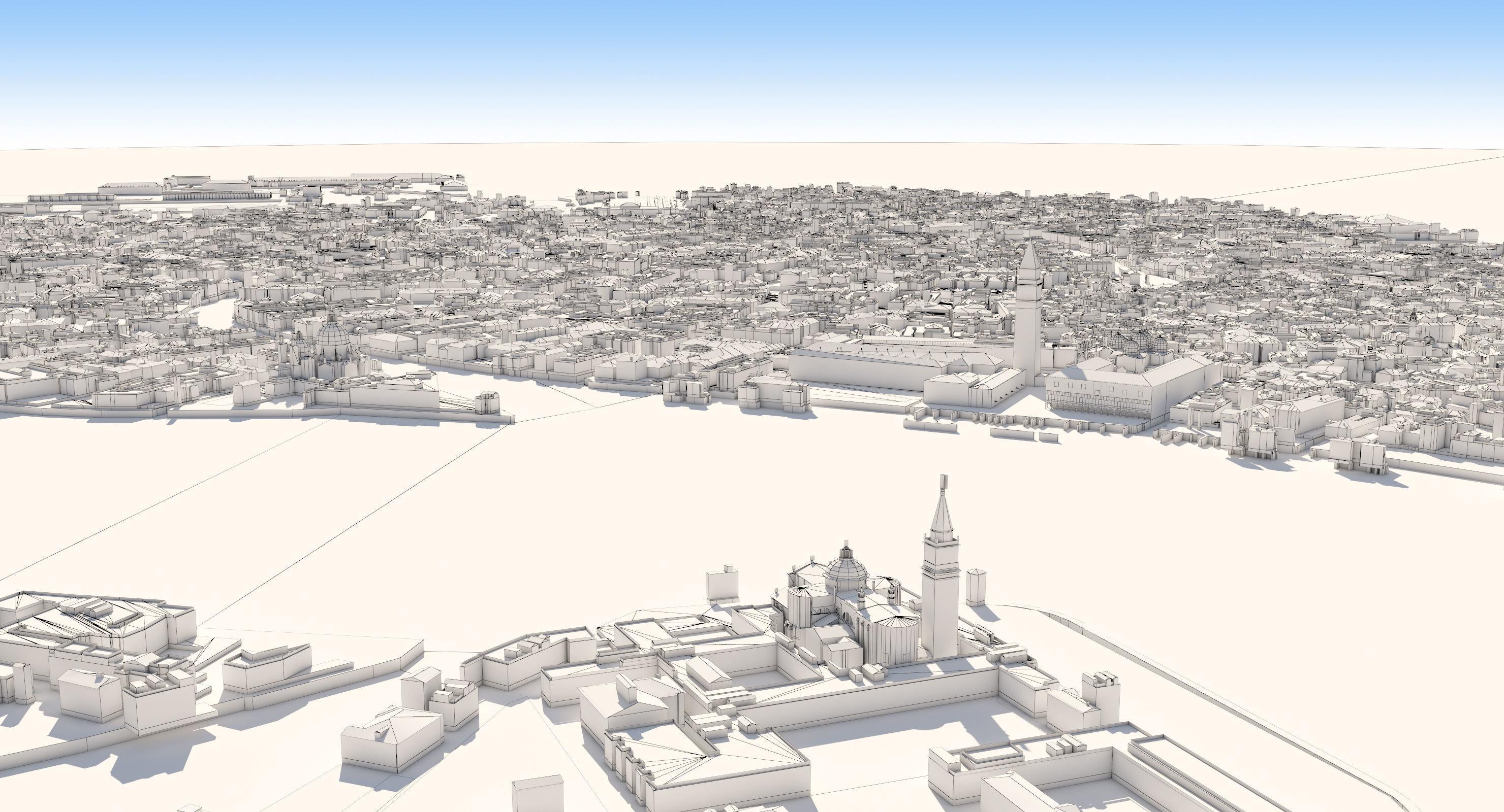 City 3d Model Obj