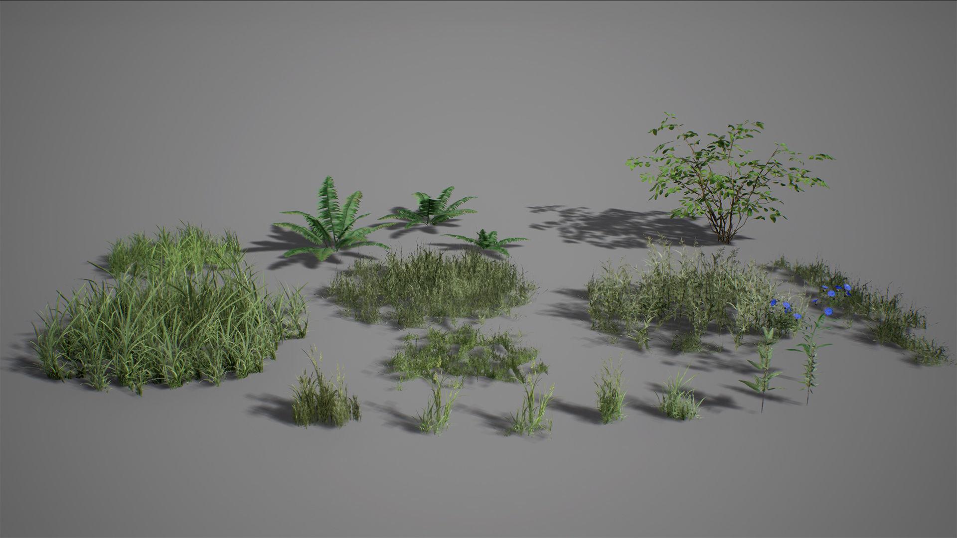 UE4 - Forest Foliage
