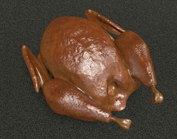 3D Roasted Turkey