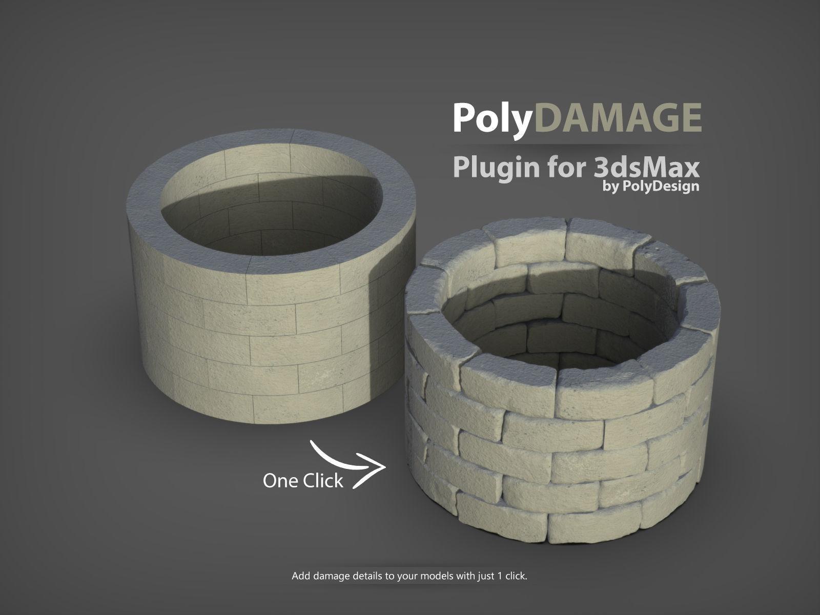 PolyDamage for 3dsMax | 3D model