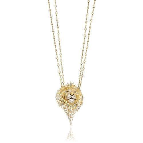 pendant wild life lion | 3D model