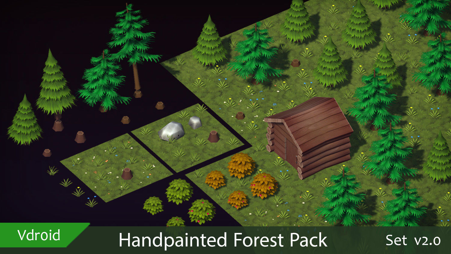 Handpainted Forest Pack v2