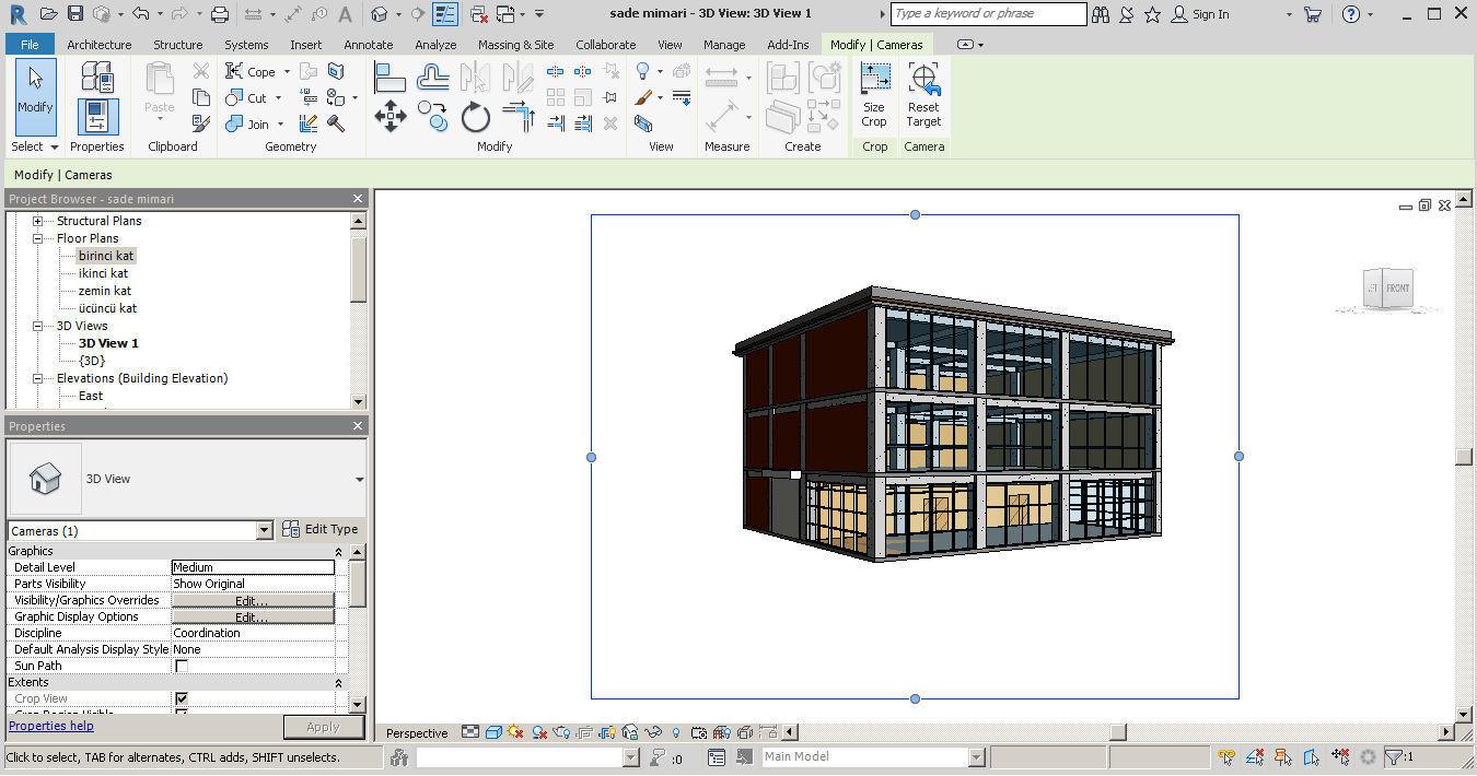revit architect mechanical | 3D model