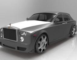 3D model Rolls Royce Ghost 2