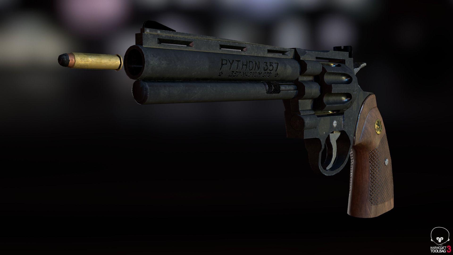 Magnum Colt Python 357 | 3D model