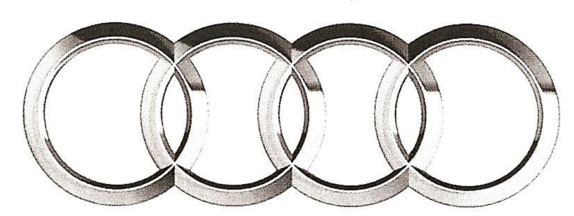 D AUDI Symbol CGTrader - Audi symbol