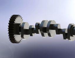 Crankshaft part 3D model