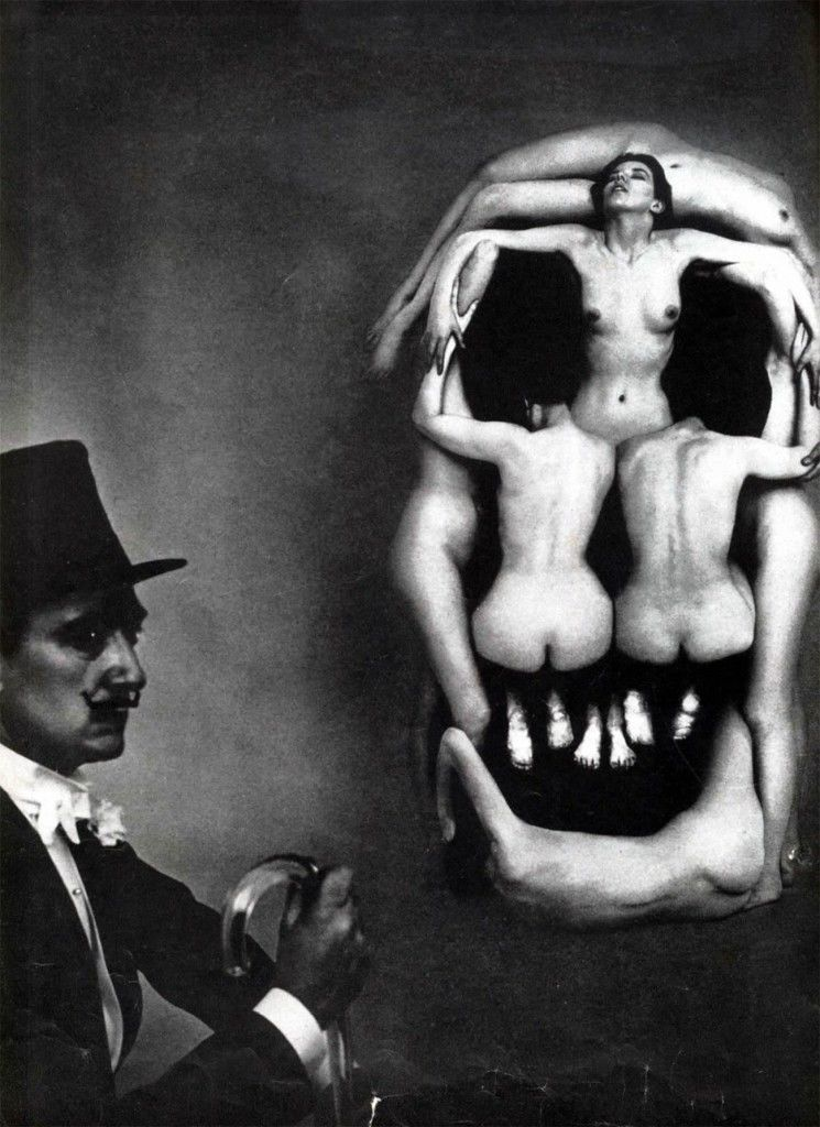 Salvodore Dali Skull model
