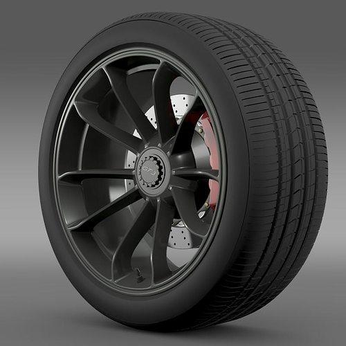 porsche 911 gt3 2014 wheel 3d model max 3ds fbx c4d lwo lw lws ma mb 1