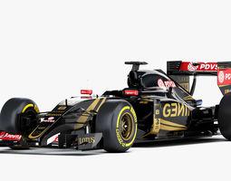 3D model F1 Lotus Mercedes E23 Formula 2015