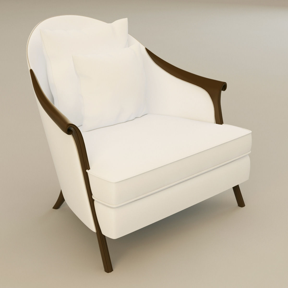 Christopher Guy Poltrona Armchair 3d Model Max Obj 3ds Fbx Mtl 1 ...