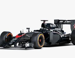 3d f1 mclaren honda mp4-30 formula 2015