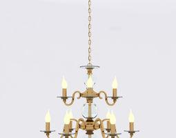 Lustrarte etrusca chandelier 3D model