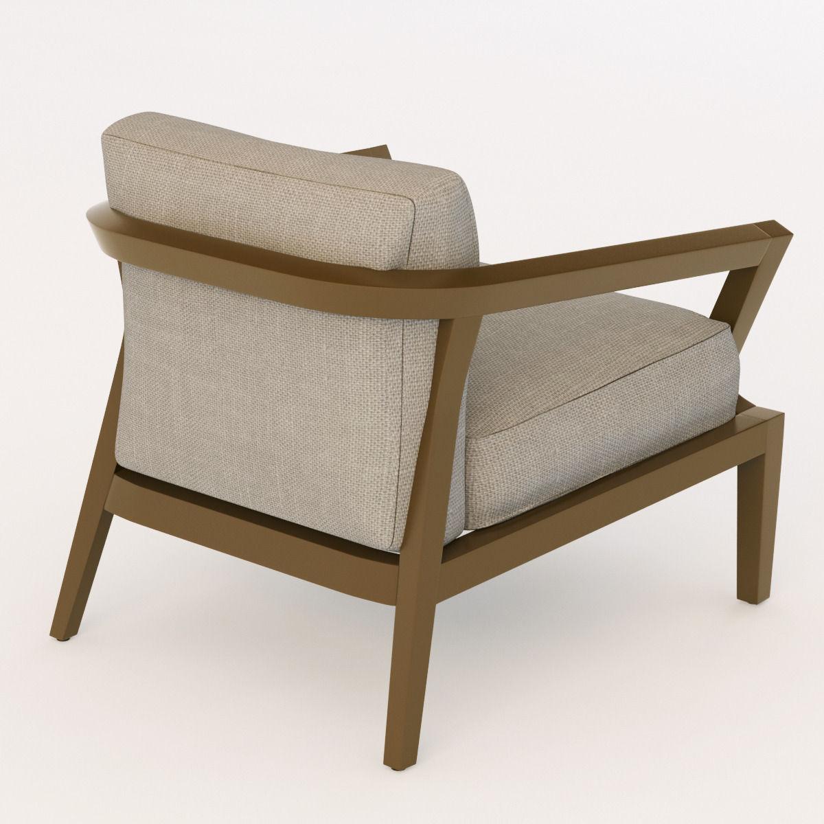 Roche Bobois Echoes Chair 3d Model Max Obj 3ds Fbx Mtl