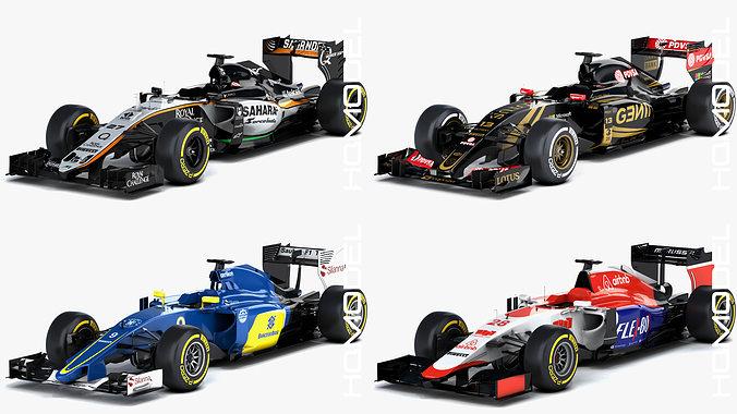 F1 Season 2015 Formula Collection 02