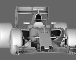 3D model F1 Mclaren Honda MP4-30 Season 2015