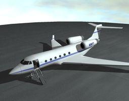 3D model Commercial Passenger Airplane
