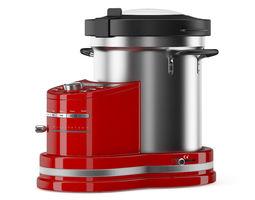 3d model red food processor