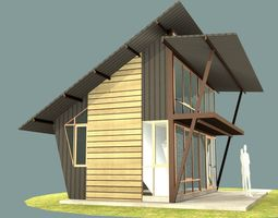 3D Small vacation cottage