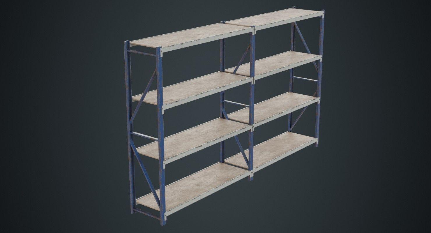 Steel Shelf 1B