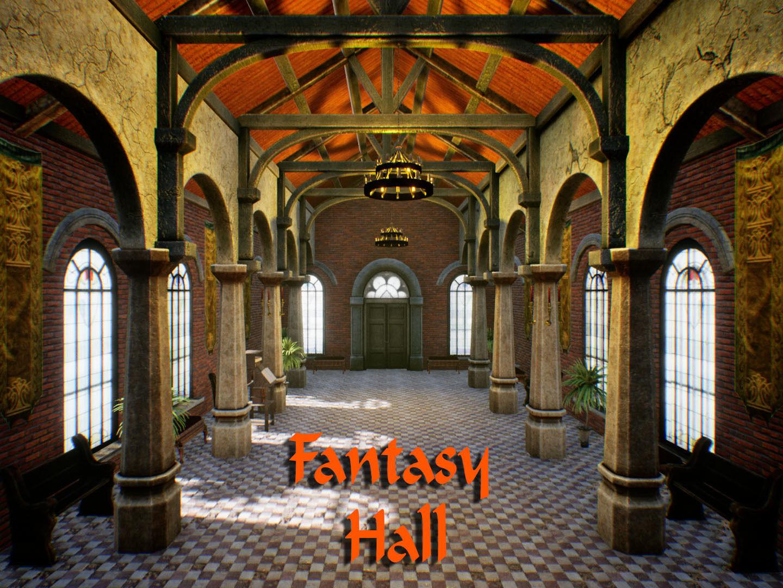 Fantasy Hall for Unreal