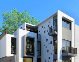 Namiu House 3D Model