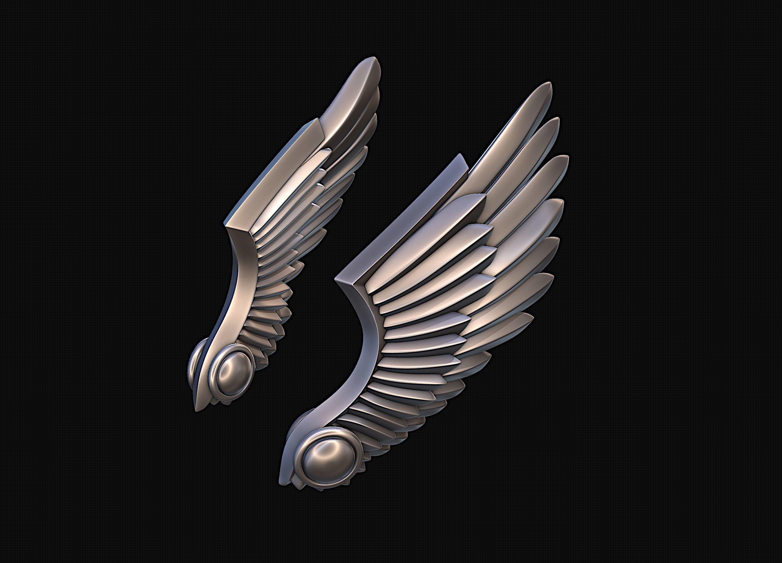 Wings Stylized