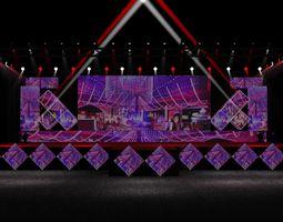 3D print model stage design