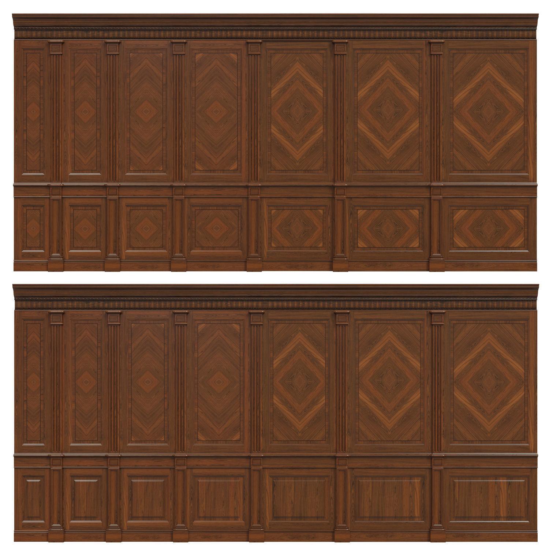 Wood panels with veneer 02