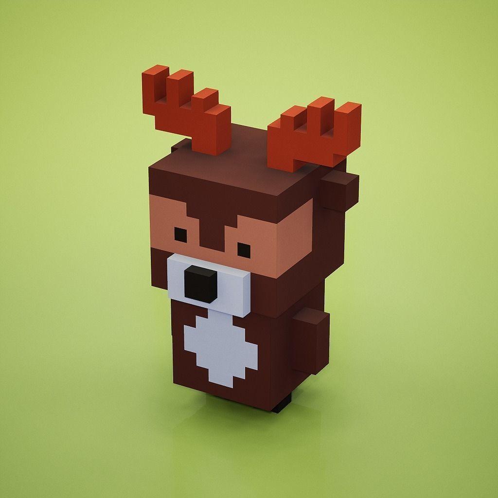 Voxel - Deer