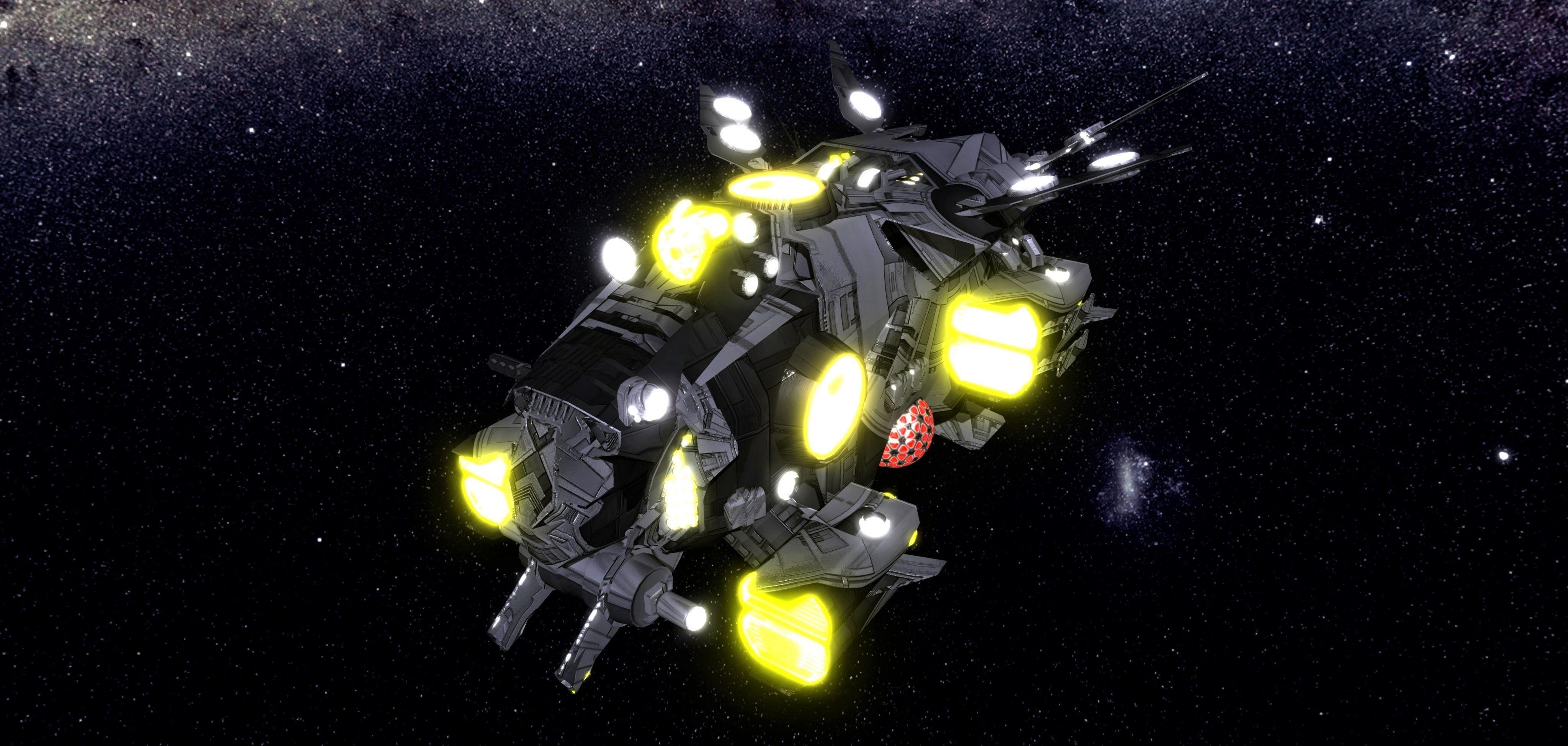 Kings - Interceptor Ship - Updated
