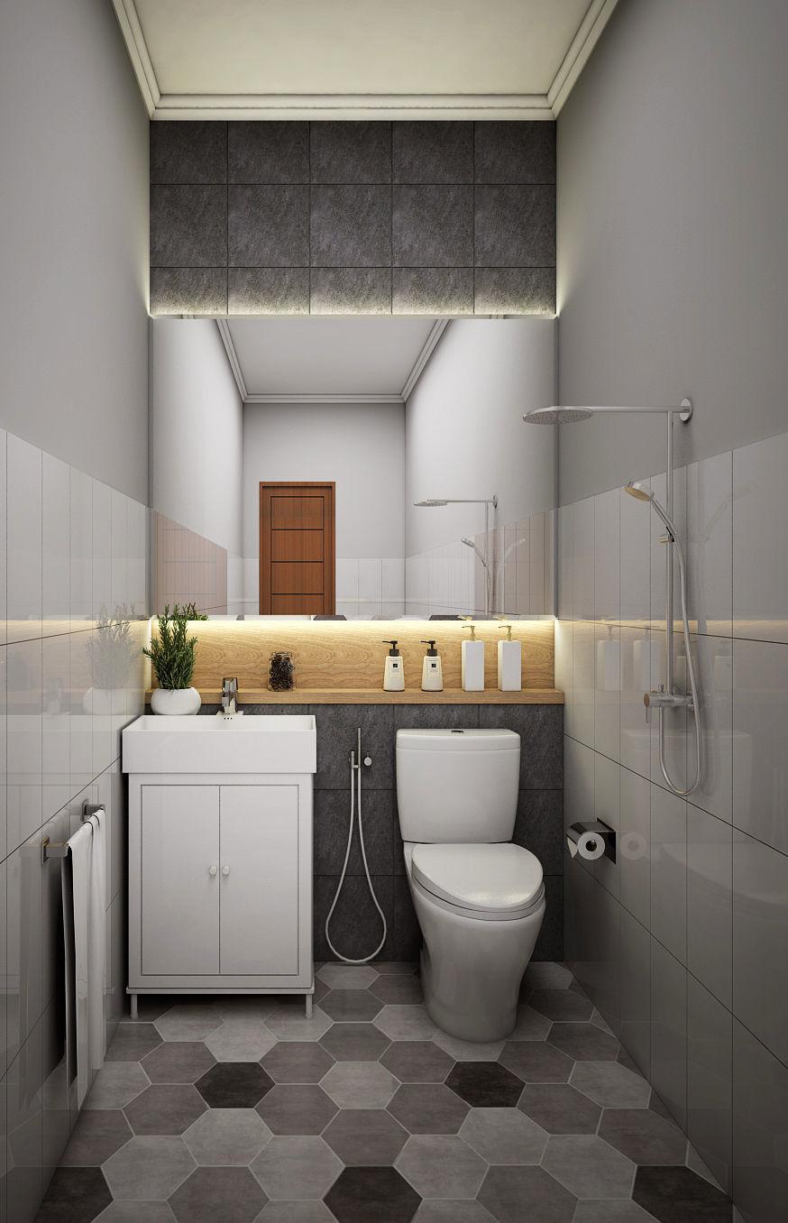 3D Bathroom Design interior-design | CGTrader