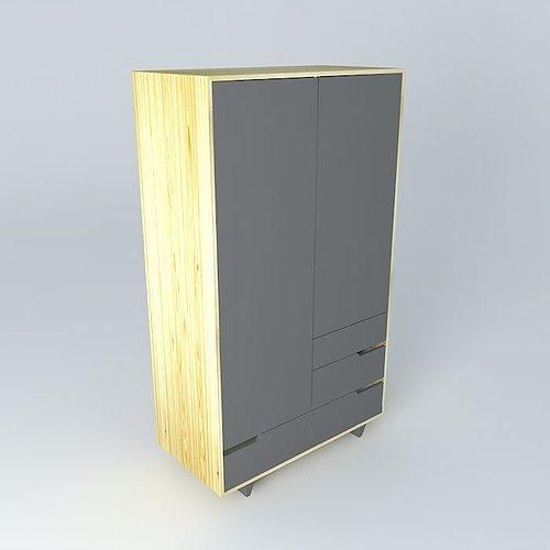 3d mandal wardrobe cgtrader for 3d wardrobe planner