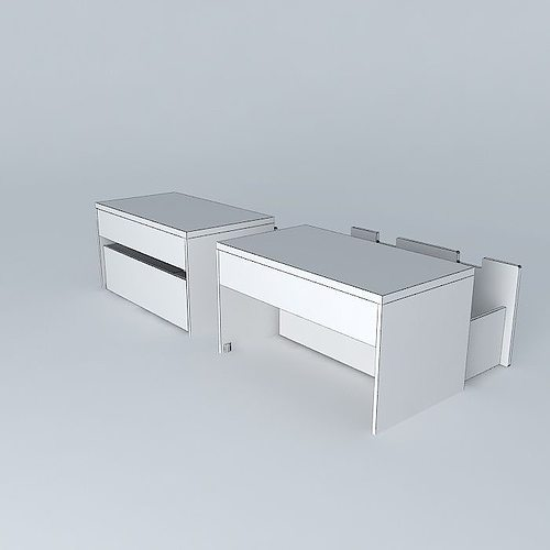 stuva storage bench 3d model max obj 3ds fbx stl dae