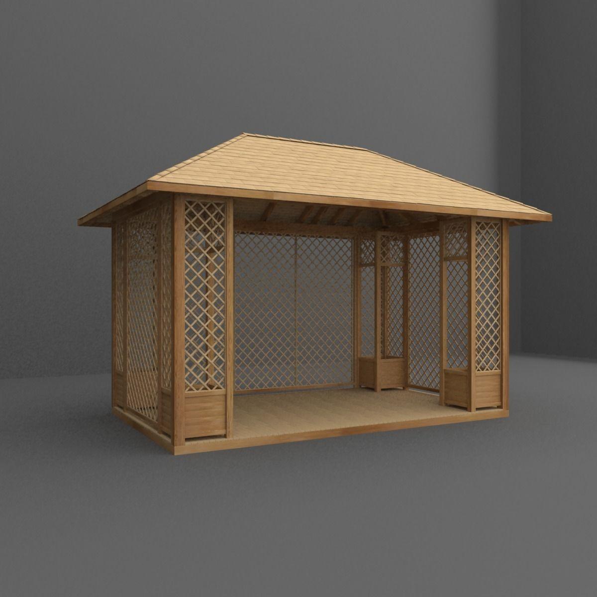 gazebo | 3D model