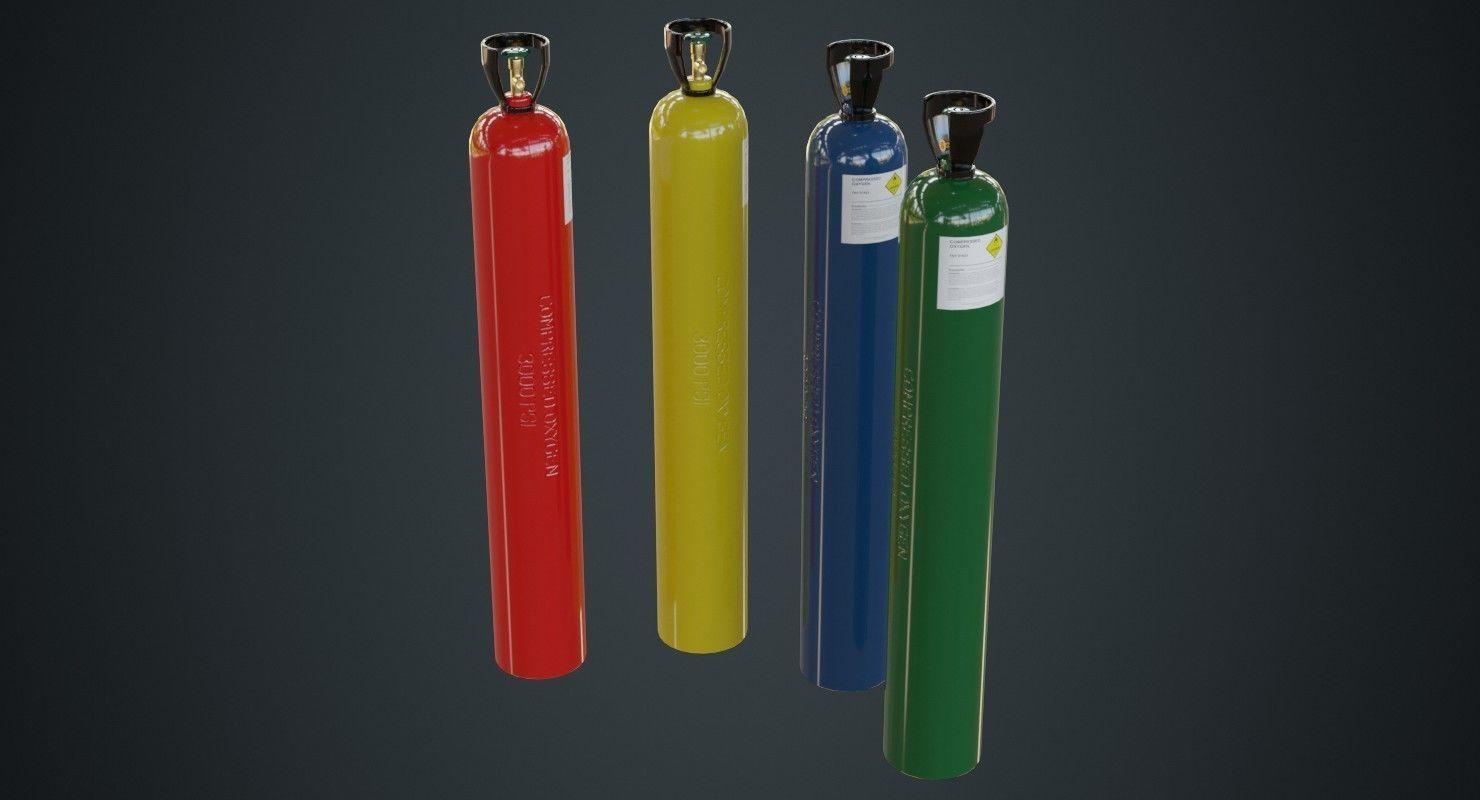 Gas Cylinder 2A