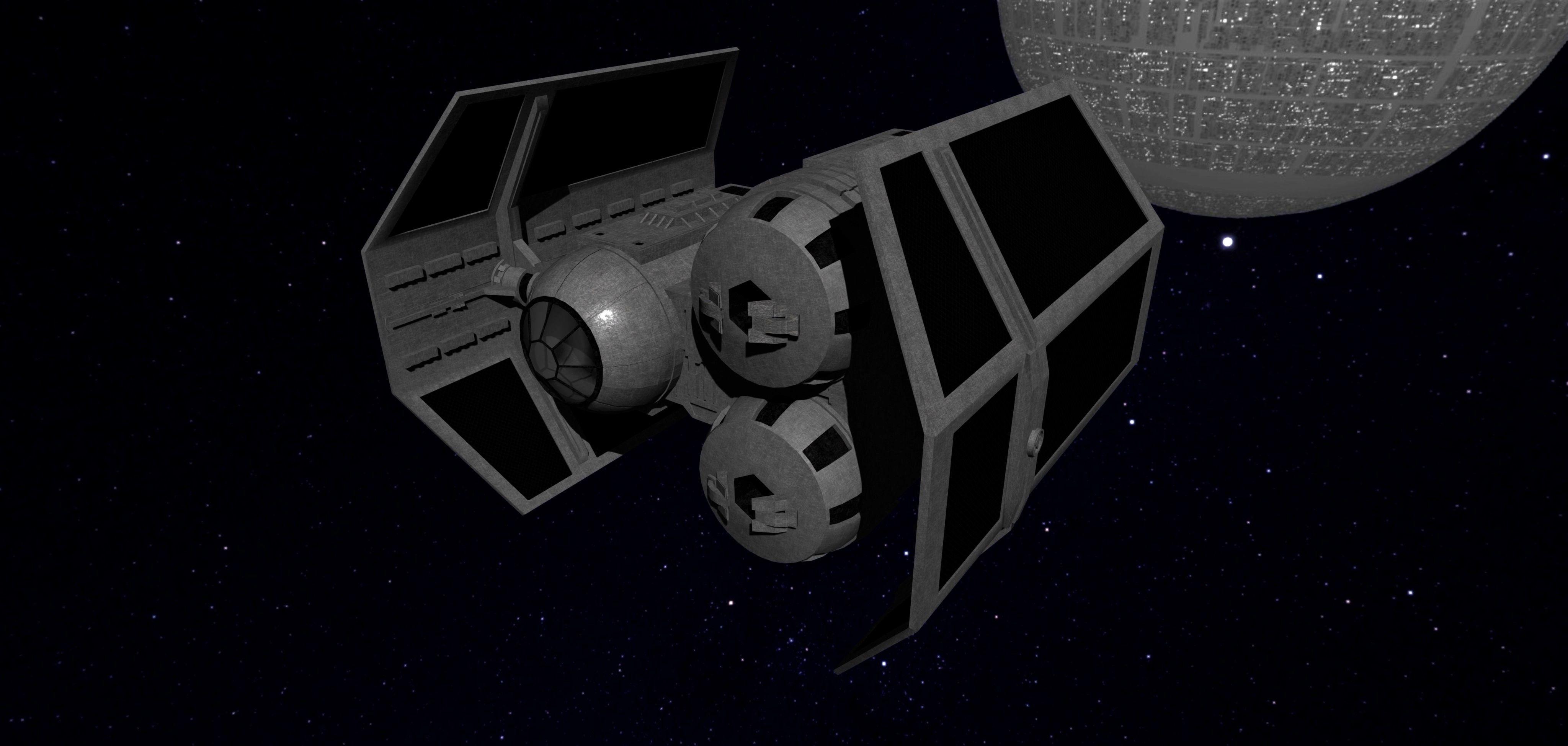 STAR WARS - TIE HEAVY BOMBER | 3D model