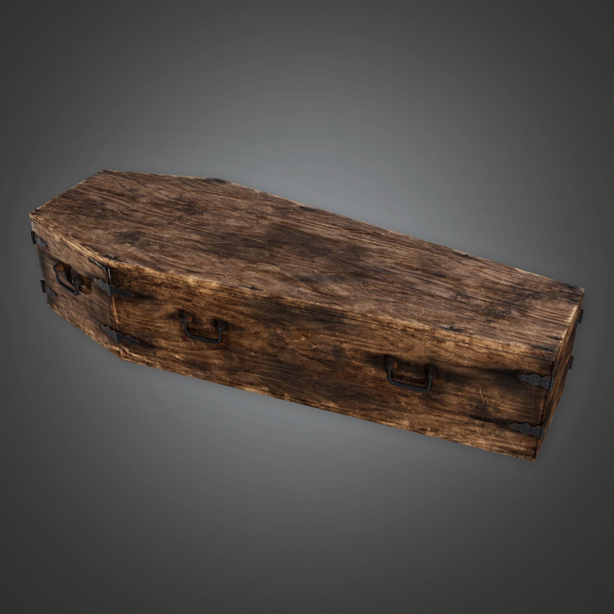 CEM - Cemetery Coffin 2 - PBR Game Ready