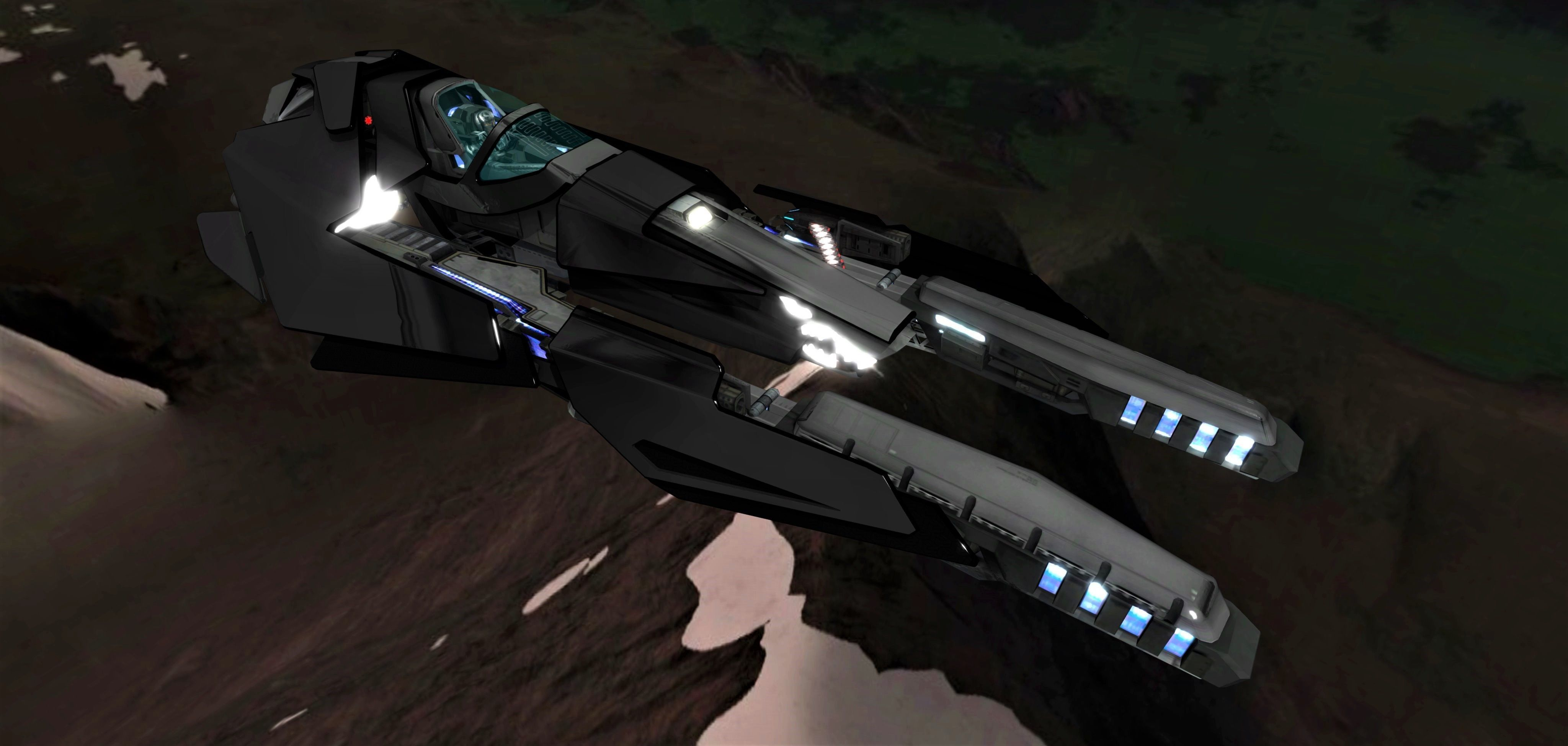 WIPE OUT - TRIAKIS F SPACE FIGHTER