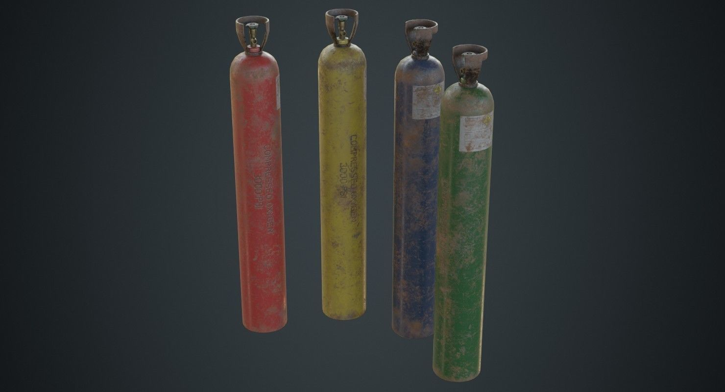Gas Cylinder 2C