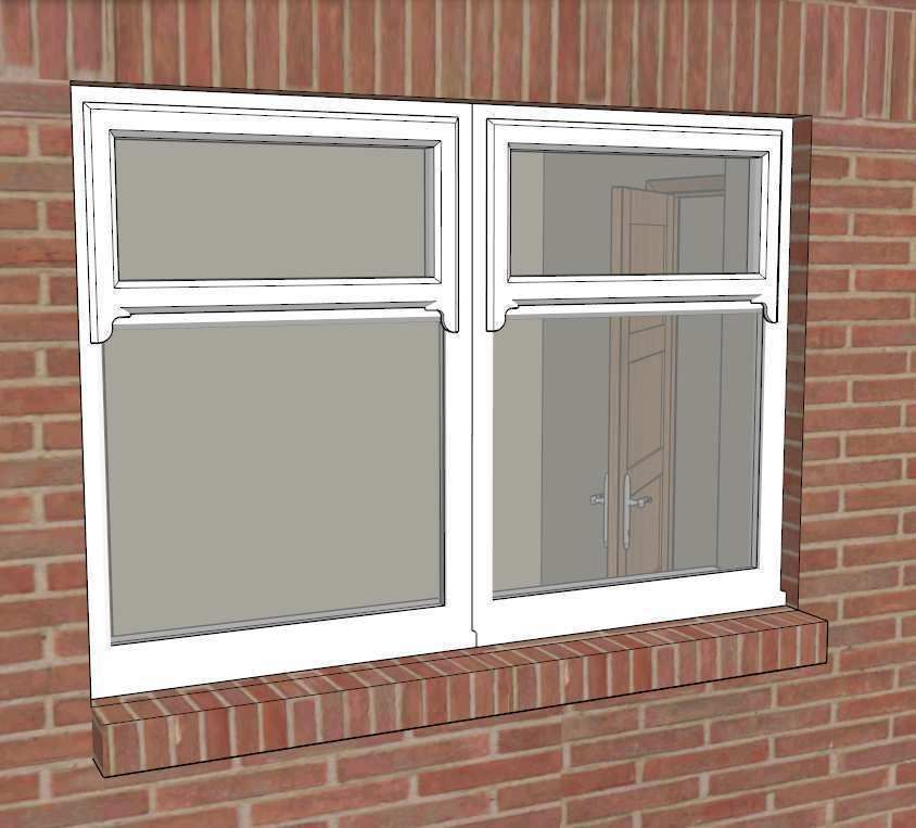 Dynamic sketchup window maker 3d model skp 3d model house maker