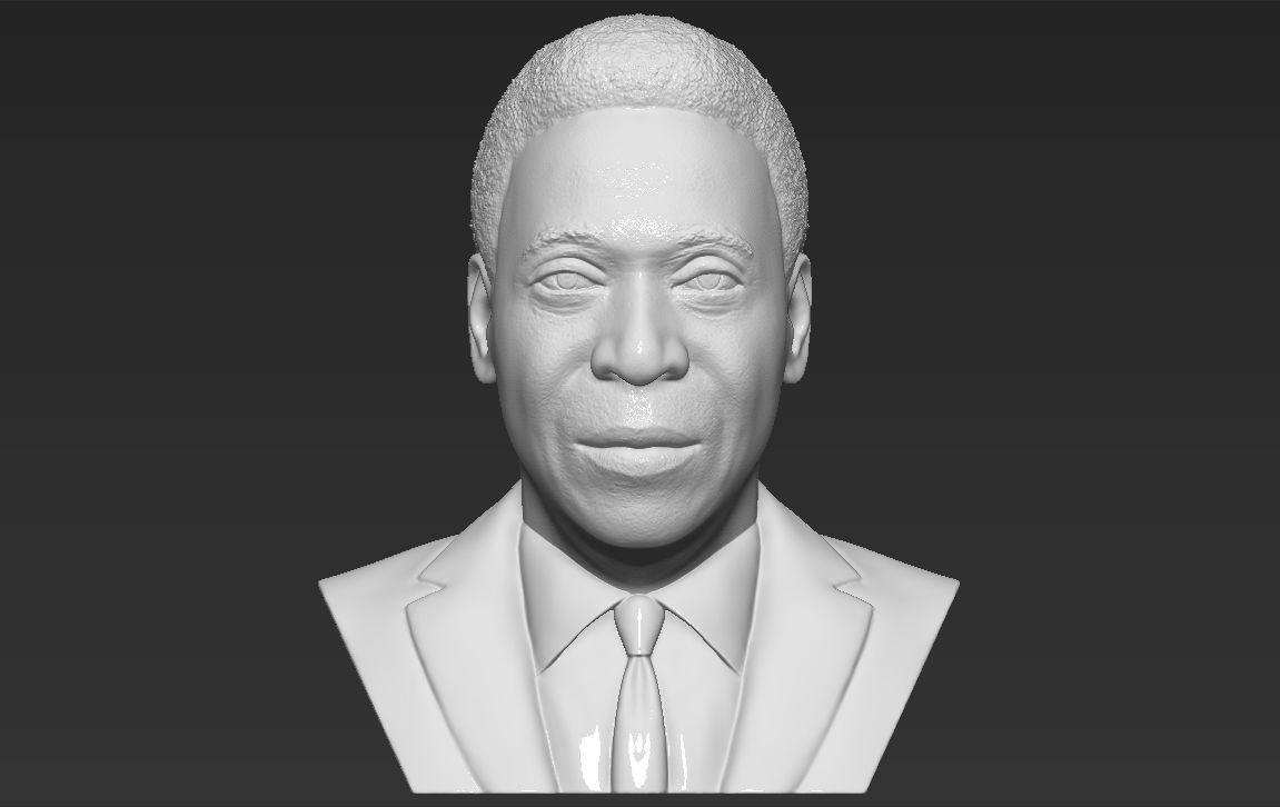 Pele bust 3D printing ready stl obj formats