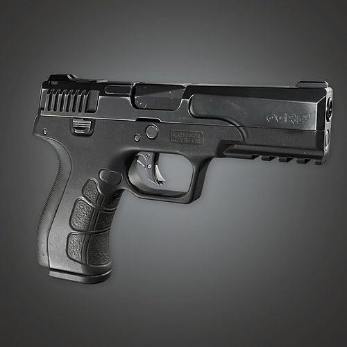 MHG - Ogre 9 Modern Handgun - PBR Game Ready