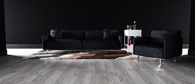 Sofa set - Interior Furniture 05